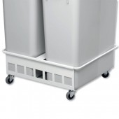 &Durabin Trolley Duo 60 Wht 1801667010