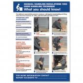 SS Manual Handeling Lam Poster HS102