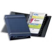 Durable Visifix 200 Bus Card Album Blu