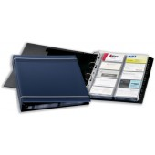 Durable Visifix 400 Bus Card Album Blu