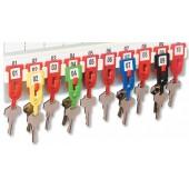 &Helix Key Hangers W23100 Pk100