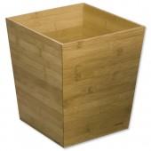 &Rexel Bamboo Waste Bin 2102372