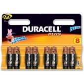 Duracell Plus Power Battery Size AA Pk8