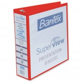 &Bantex Prsnttn RBndr 50mm Red 400001254