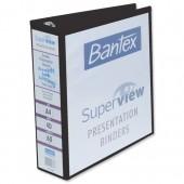 &Bantex Prsnttn RBndr 60mm Blk 400001271