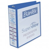 &Bantex Prsnttn RBndr 60mm Blu 400001272