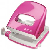 Leitz Off Pch Metal 30Sh MetPnk 50082023