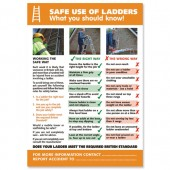 SSuperior Safe Use of Ladders Lam Pstr