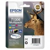 Epson InkCarts C/M/Y C13T13064010 PK3