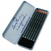 Derwent Academy Pencils Tin of 6 2301945