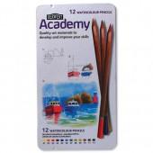 &Derwent Academy Wcol Pcil Tin12 2301941