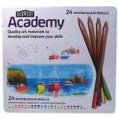 &Derwent Academy WcolPcils Tin24 2301942