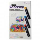 Derwent Academy OilPastelsSet12 2301952