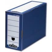R-Kive Bnkr-Box F/Top File Blue/Wht  59