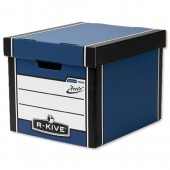 R-Kive Prem Presto Tall Blue Storage Box
