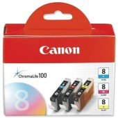 Canon CLI8 Inkcart PK3 C/M/Y 0621B026