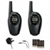 Cobra MT600 Walkie Talkie Radio (2Pk)
