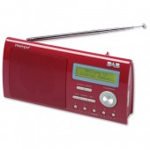 Intempo Claret Portable DAB Radio