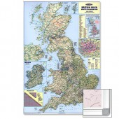 &M/M Brit Isles Motoring Map Frmd Frabim