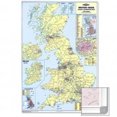 &M/M Uk Sales & Mktng Map Framed Framukm