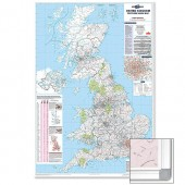 &M/M Uk Postcode Area Map Frmd Frambipa