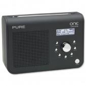 Pure One Classic DAB Black VL-61085
