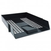 Avery Basics Letter Tray Black 1132BLK