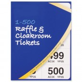 Cloakroom-Raffle Tickets 500 5555