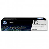 Hewlett Packard [HP] No. 126A Laser Toner Cartridge Page Life 1200pp Black Ref CE310A