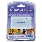 Integral Multi Card USB Reader INCRMULTI