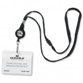 Durable Textile Necklace Reel PK10 8223