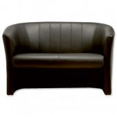#TrexusP Leather Tub Sofa