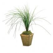 2*Artificial Green Long Grass