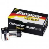 Energizer UltraPlus 9v PK20 632874