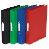Rexel 4 Ring Binders A4 Black 55345