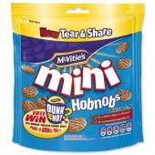 McVities MiniChoc HobNob 125g A07452
