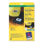 Avery Labels Heavy Duty Inkjet J4773-10