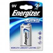 &Energizer Ultimate Lih 9V FSB1 633287