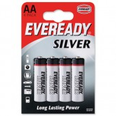 Eveready Silver AA/R6 Pk4 621065