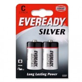 &Eveready Silver C/R14 Pk2 621069