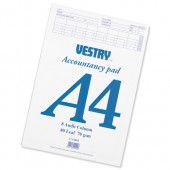 Vestry Accountants Pad A48 Audit Cv2092