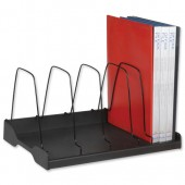 Arnos Eco-Tidy Adj Book Rack Blk E120