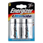 Energizer Ultimate Battery D Pk2 629801