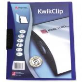 Rexel KwikClip PP Blue 14630031 Pk.25