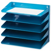 Avery Letter Rack 5 Tier Blue 605S