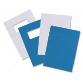 GBC Leathbd Cvrs Plain Blu 46730E PK50