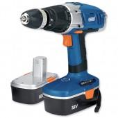 &18V Cordless Hammer Drill 2 Speed 40765