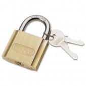 &Brass Cylinder Padlock 25mm 60151