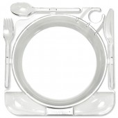 &CaterPack Clear Caterplates Pk10 4401