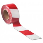 Flexo Barrier Tape RED/WHT 7101001